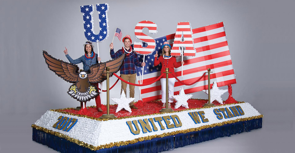 4th of July Parade Float Decorating Kit