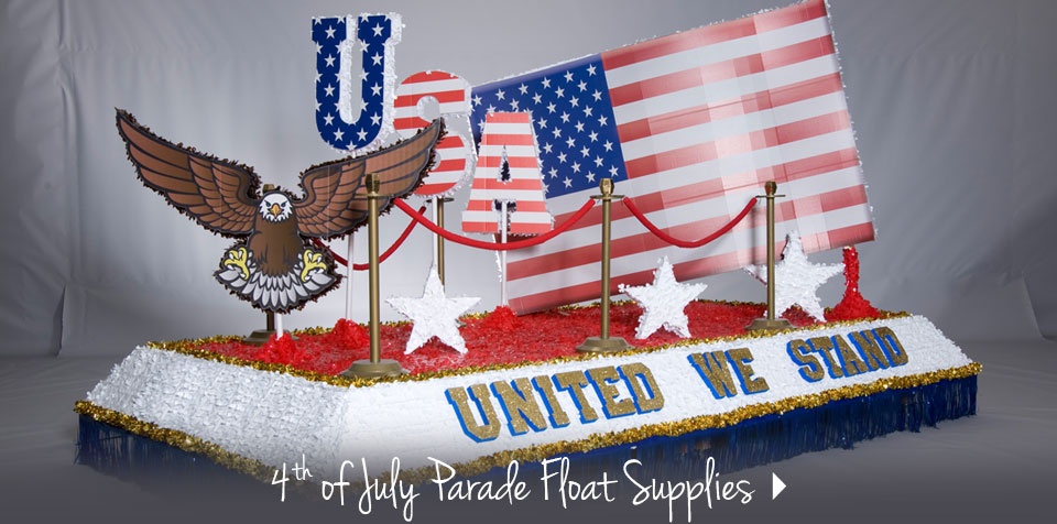 4th of July Parade Float Supplies