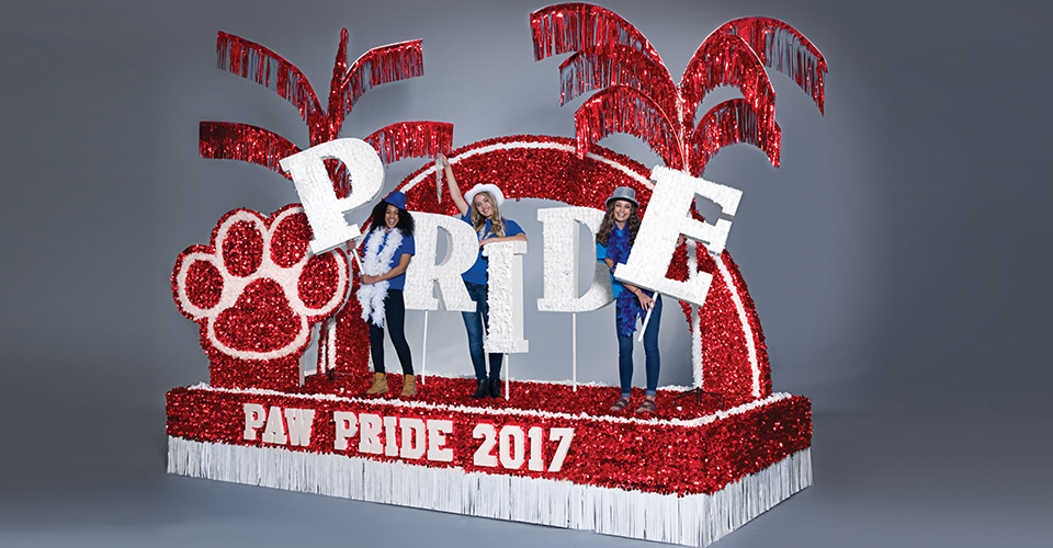 Paw Pride Parade Float Theme