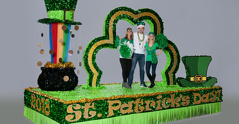 St. Paddys Day Float Theme