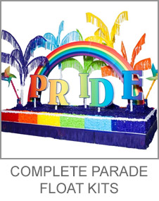 Complete Parade Float Decorating Kits
