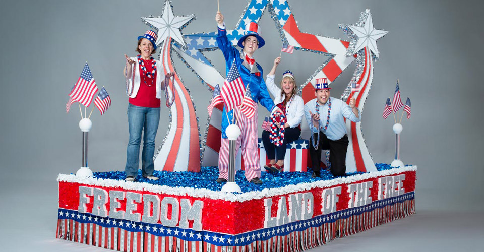 Land of the Free Parade Float Kit