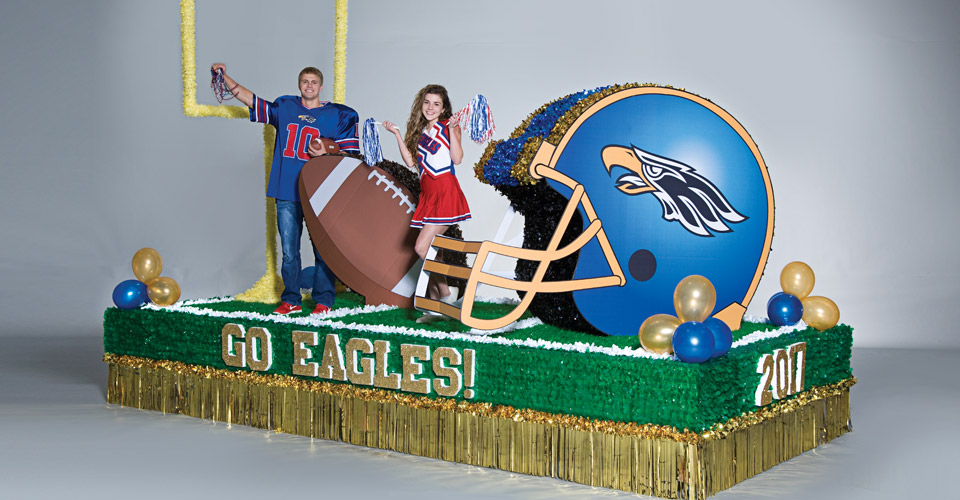 Football is Life Parade Float Theme
