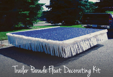 Trailer Parade Float Decorating Kit