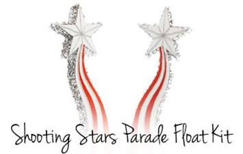 Shooting Stars Parade Float Kit