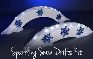 Sparkling Snow Drifts Kit