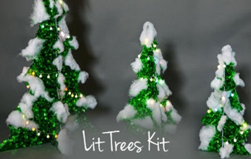 Lit Trees Kit