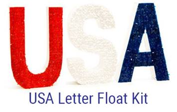 USA Letter Float Kit