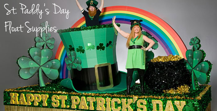 Shop St. Patricks Day Float Supplies