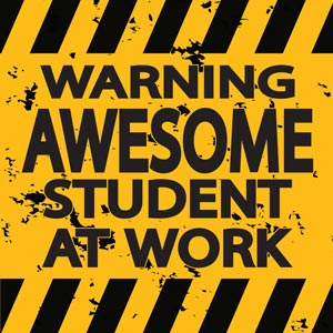 4193 - Warning Awesome Student