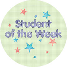 2151 - Student of the Week Sash