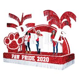Complete Red Paw Pride Parade Float Decorating Kit
