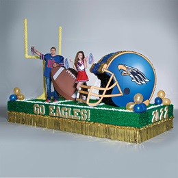 Complete Football is Life Parade Float Decorating Kit