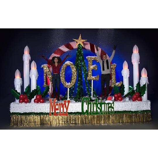 Premium Complete Merry Christmas Parade Float Decorating Kit