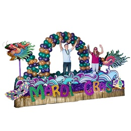 Complete Mardi Gras Mythology Parade Float Decorating Kit