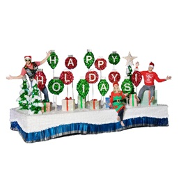 Complete Holiday Parade Float Decorating Kit