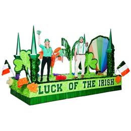 Complete St. Patrick's Day Parade Float Decorating Kit