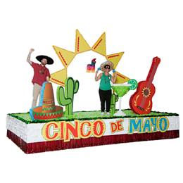 Complete Cinco de Mayo Parade Float Decorating Kit