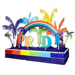 Complete Rainbow Pride Parade Float Decorating Kit