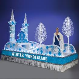 Complete Winter Wonderland Parade Float Decorating Kit