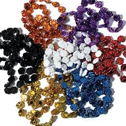 33 in Paw Shaped Beads 12 Pack