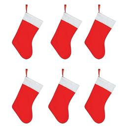 Christmas Stocking Pack of 6