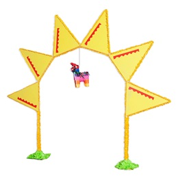 Arch and Pinata Cinco de Mayo Parade Float Kit