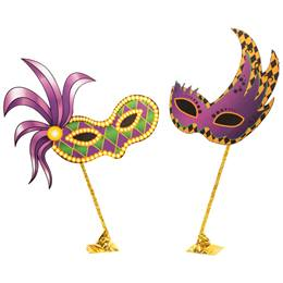 Mardi Gras Mask Kit (2)