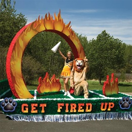 Flame Arch Parade Float Kit
