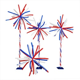 Fireworks Balloon Stands Kit (set of 3)