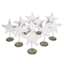 Sparkle Star Stands Kit (set of 10)
