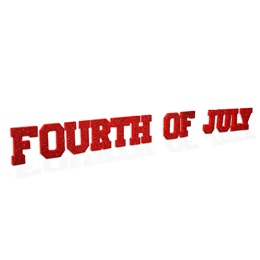 Fourth of July Letters Kit (set of 2)