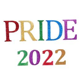 PRIDE 2020 Float Letters and Numbers Kit