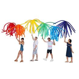 Prideful Fireworks Balloons (set of 12)