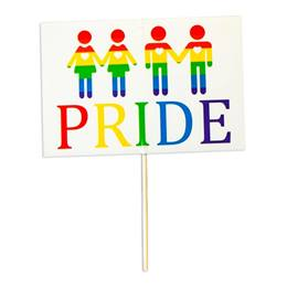 PRIDE People Sign