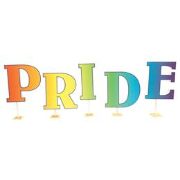 PRIDE Letters Parade Float Kit