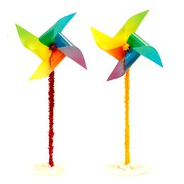 Rainbow Pinwheels Parade Float Kit