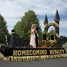 Homecoming Royalty Letters Parade Float Kit