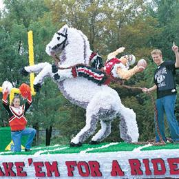 Horse and Rider Parade Float Kit