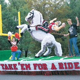 Take 'Em For a Ride Lettering Parade Float Kit