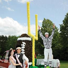 Goal Post Parade Float Kit