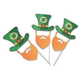 Leprechaun Face Cut Outs Kit (set of 6)