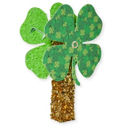 Spinning Four-Leaf Clover Column Parade Float Kit
