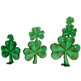 Luck of the Irish Shamrocks Parade Float Kit (set of 3)