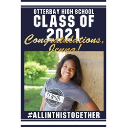 Graduation Photo Banner - All in This Together