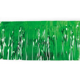 "Green 30"" Metallic Fringe"