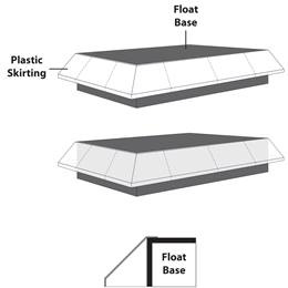 Tapered Float Skirting