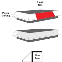 Float Skirting Extension (set of 2)