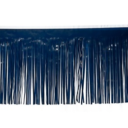 Vinyl Fringe-Dark Blue