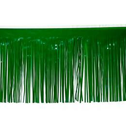 Vinyl Fringe-Dark Green